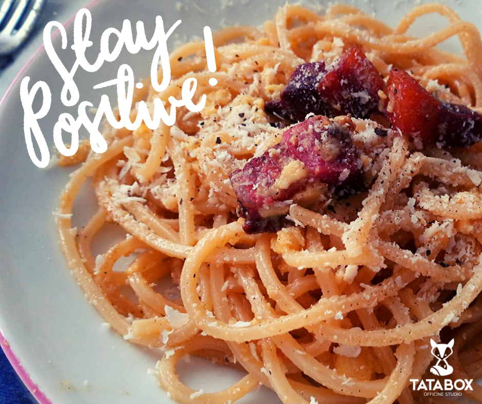 Stay Positive: fatti una carbonara!